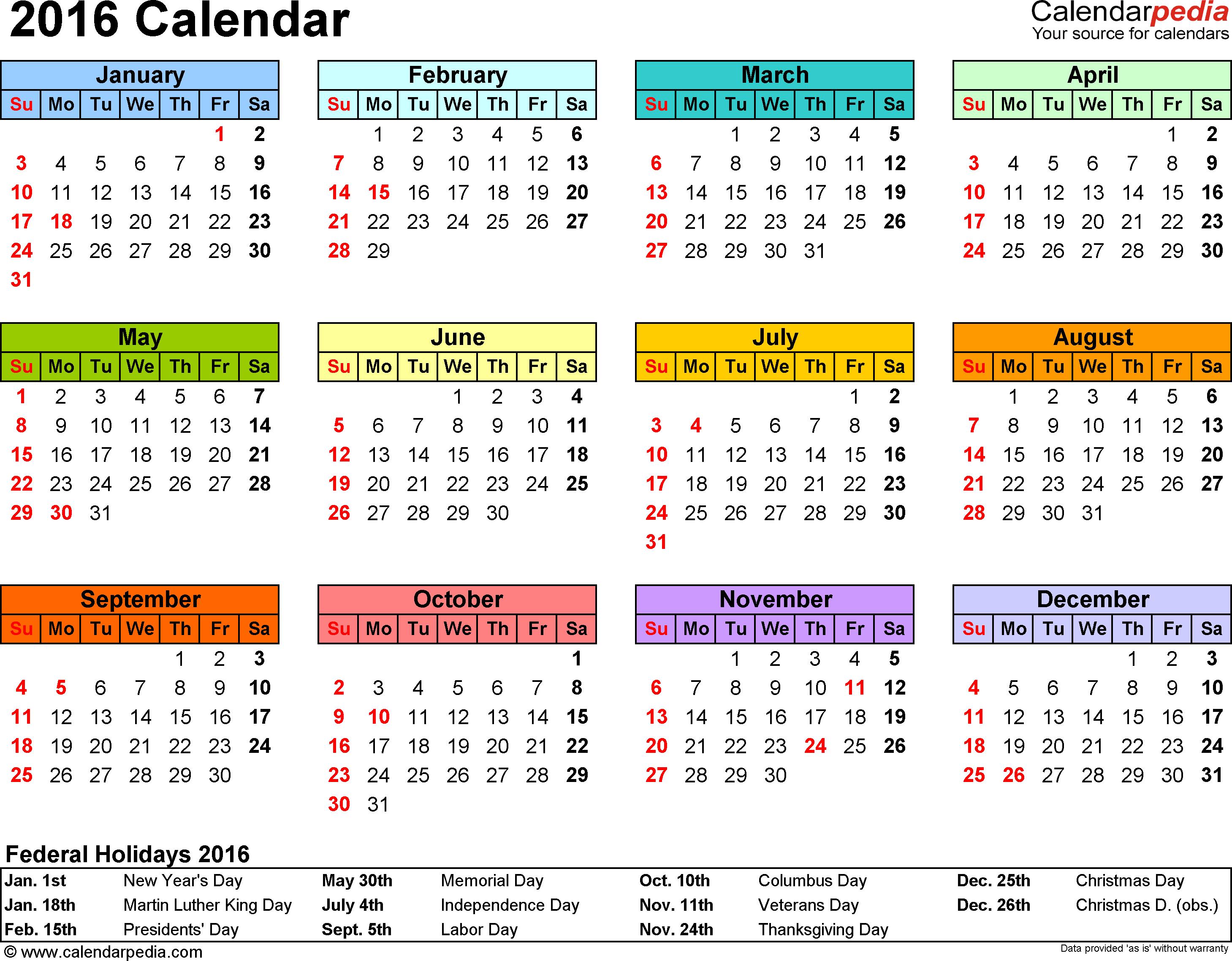 001 Template Ideas Yearlyalendar Awful 2016 Yearly Calendar