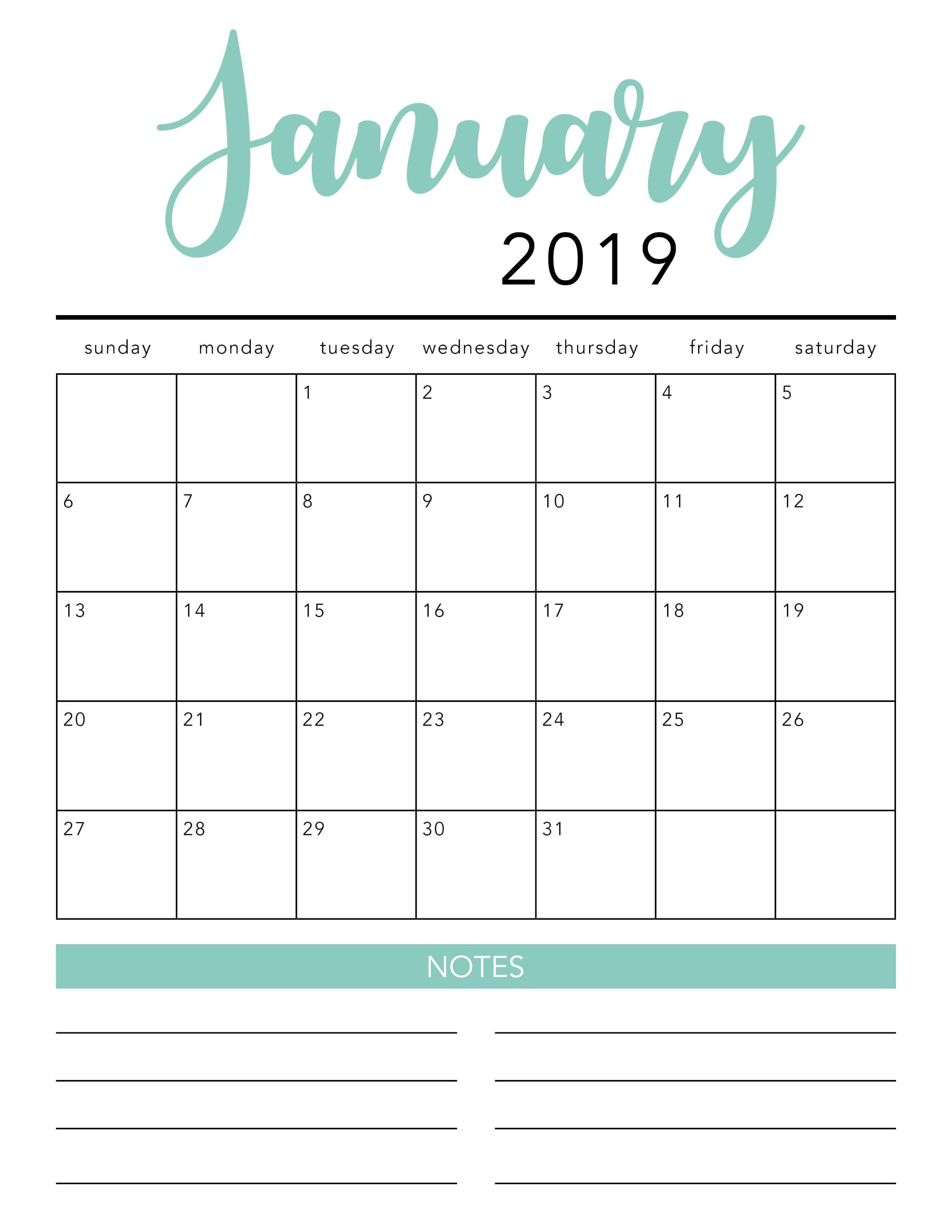 002 Free Blank Calendar Template Singular Ideas Monthly