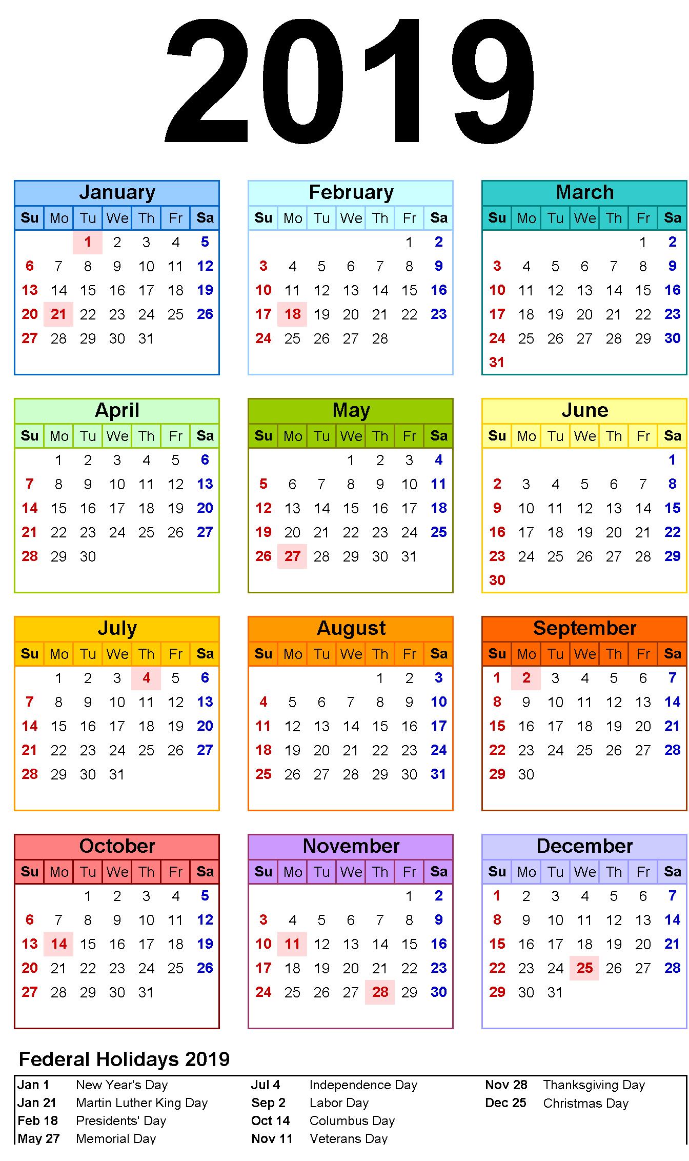 003 Template Ideas Month Calendar Marvelous 12 2019 Word
