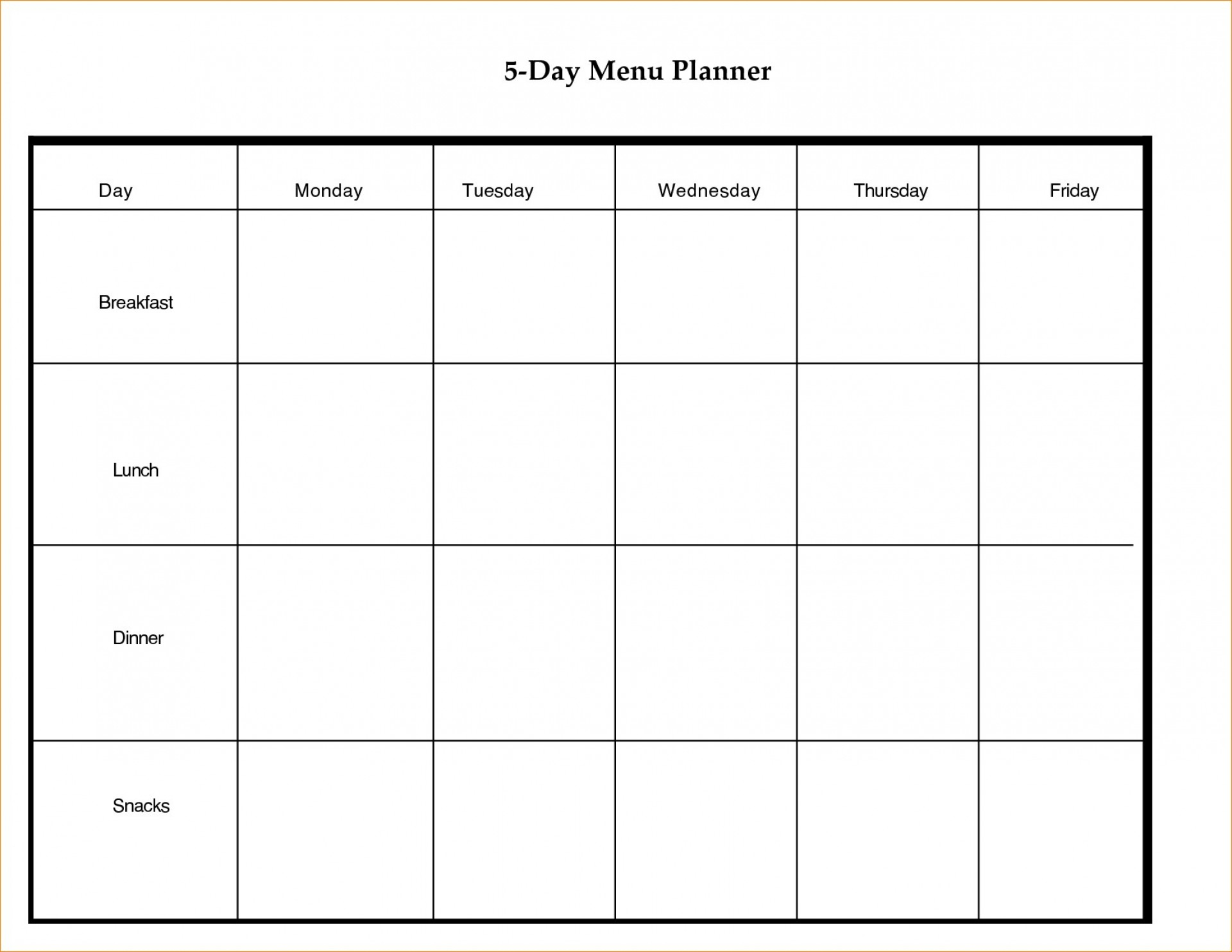 004 Template Ideas Blank Weekly Stupendous Calendar