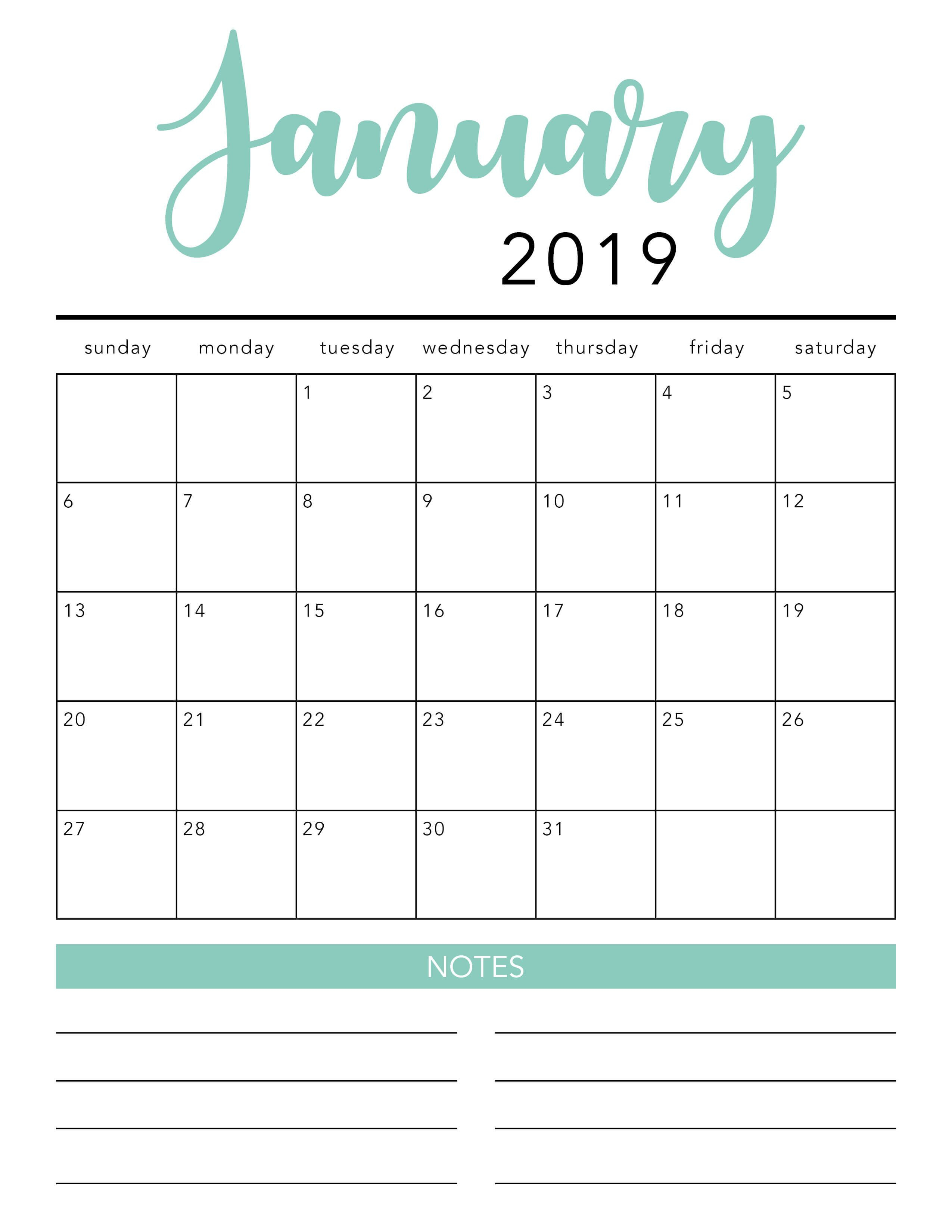 007 Template Ideas Blank Printable Striking Calendar 2020