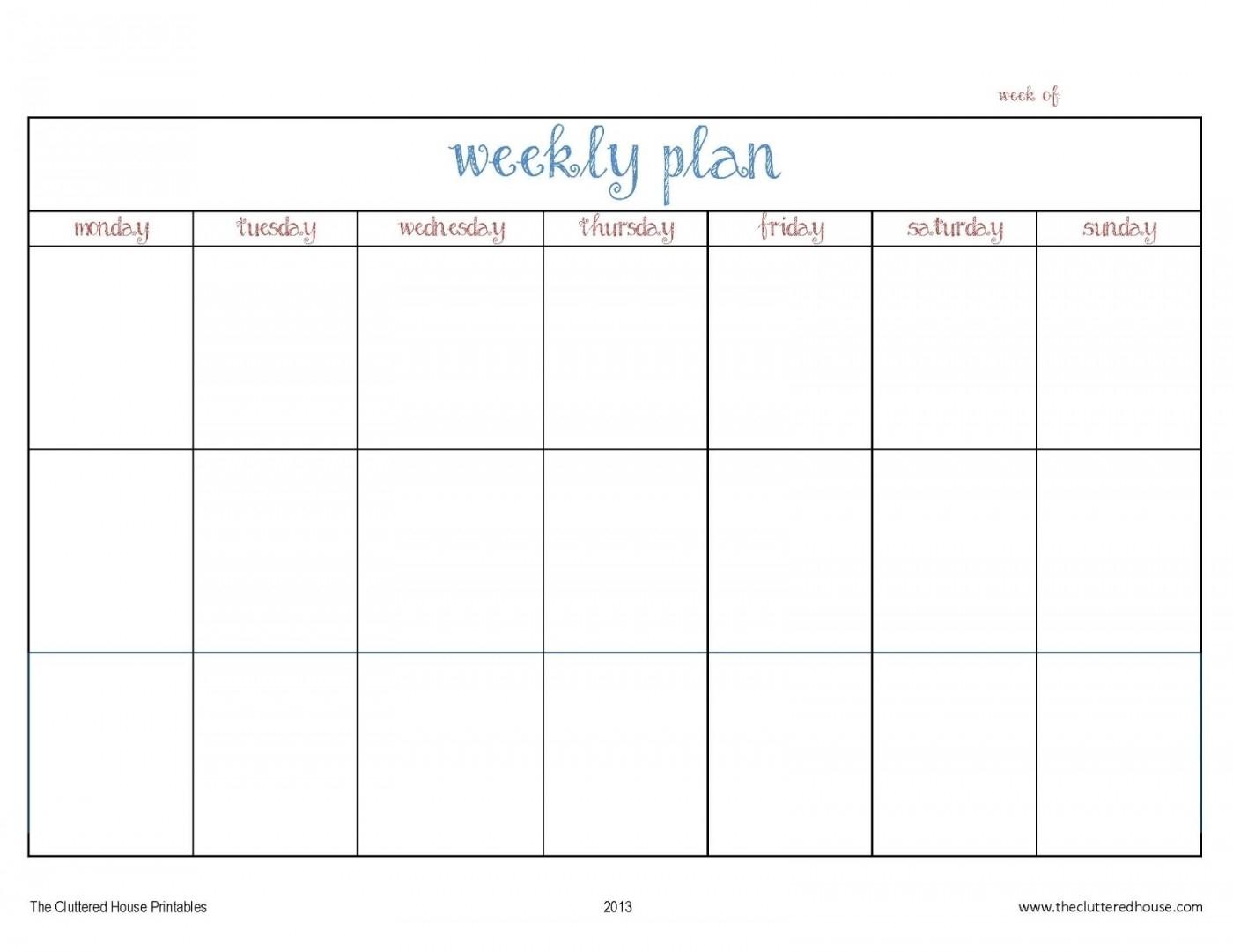 013 Ic Bi Weekly Work Schedule Template Ideas Two Week
