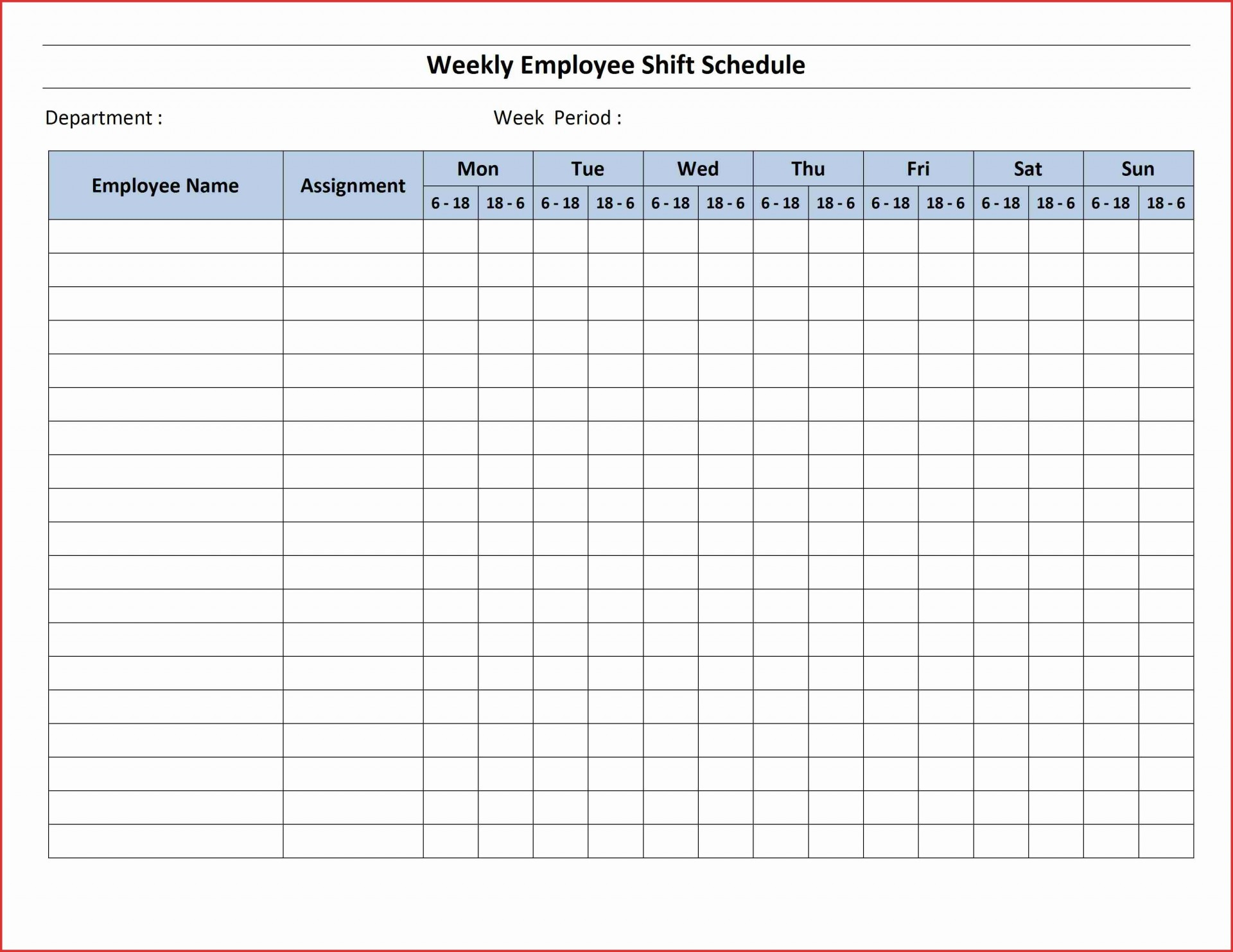016 Awesome Printable Hour Weekly Schedule Hr Template
