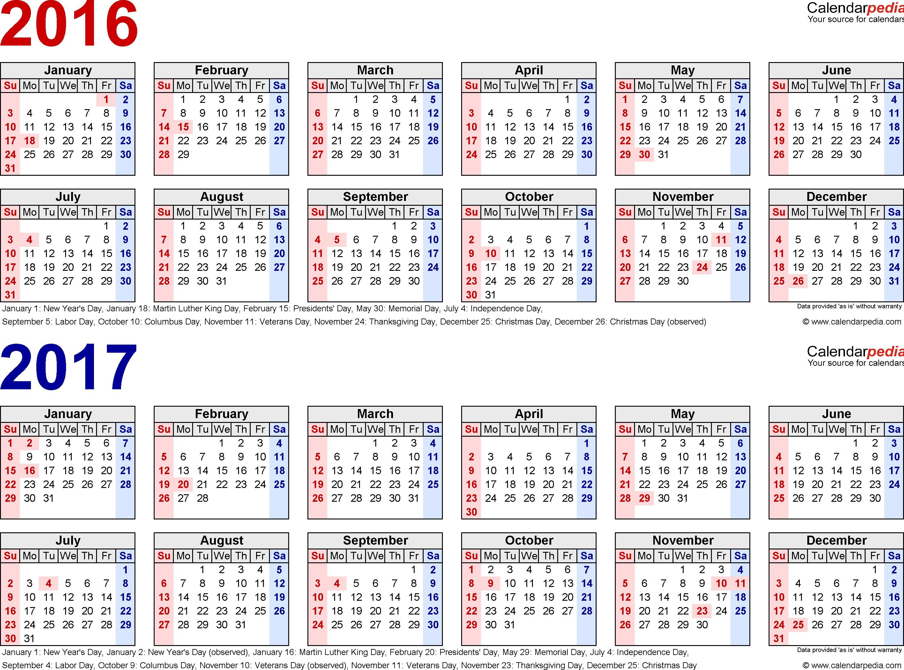 018 Template Ideas Calendar Word Singular 2016 Monthly Ms