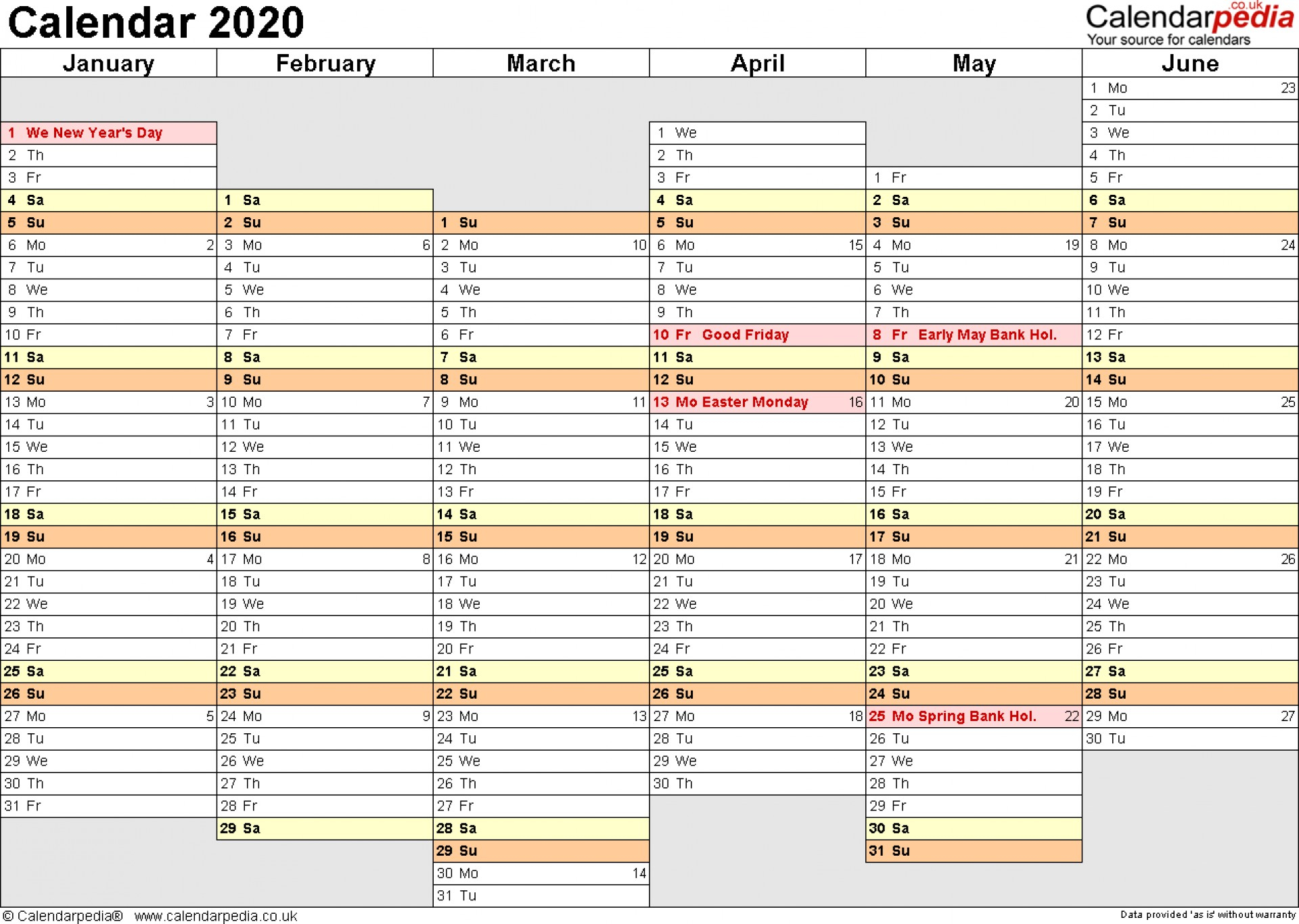 020 Template Ideas Free Excel Yearly Formidable 2020