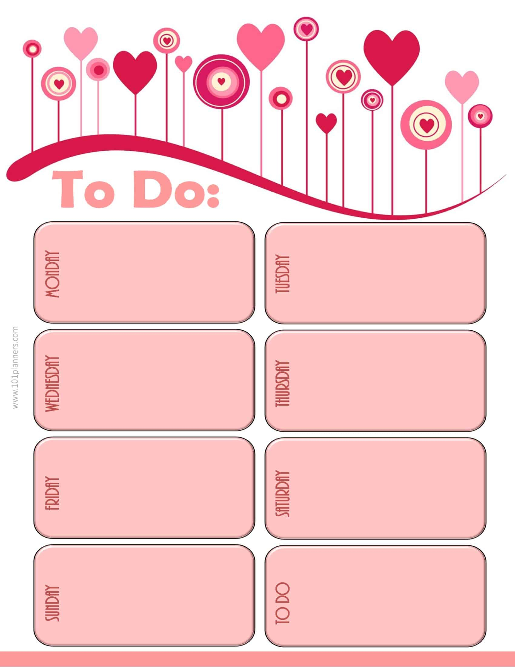 024 Template Ideas Weekly Calendar Free Magnificent Planner