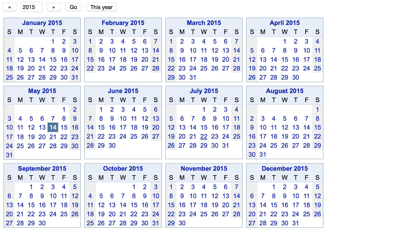 1 Year Calendar - Wpa.wpart.co
