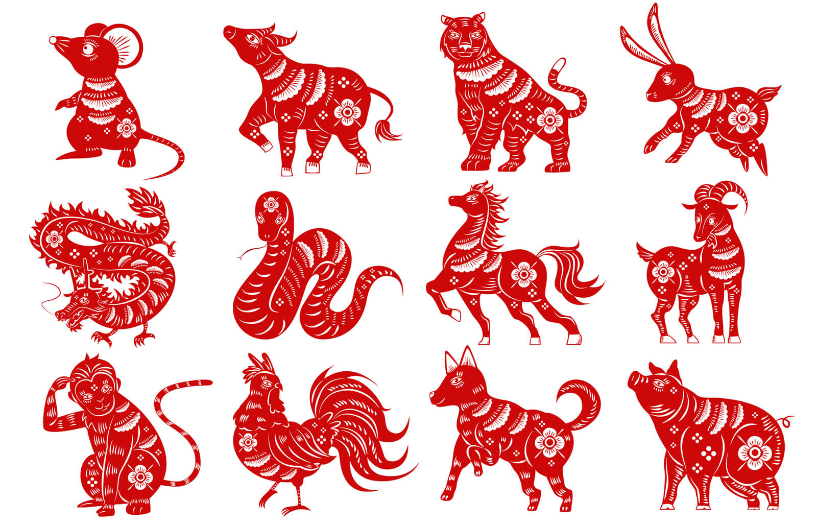 12 Chinese Zodiac Signs | Lovetoknow