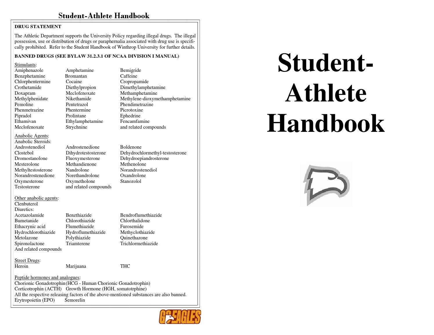 2015 Winthrop Student-Athlete Handbookbrett Redden - Issuu