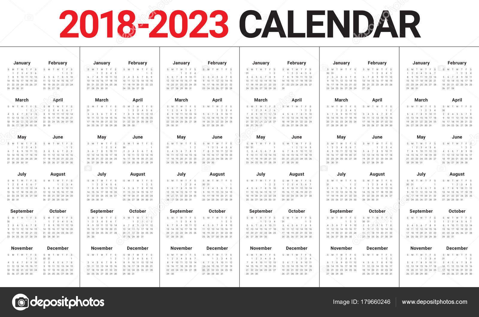 3 Year Calendar 2021 To 2023 | Calendar Printables Free ...