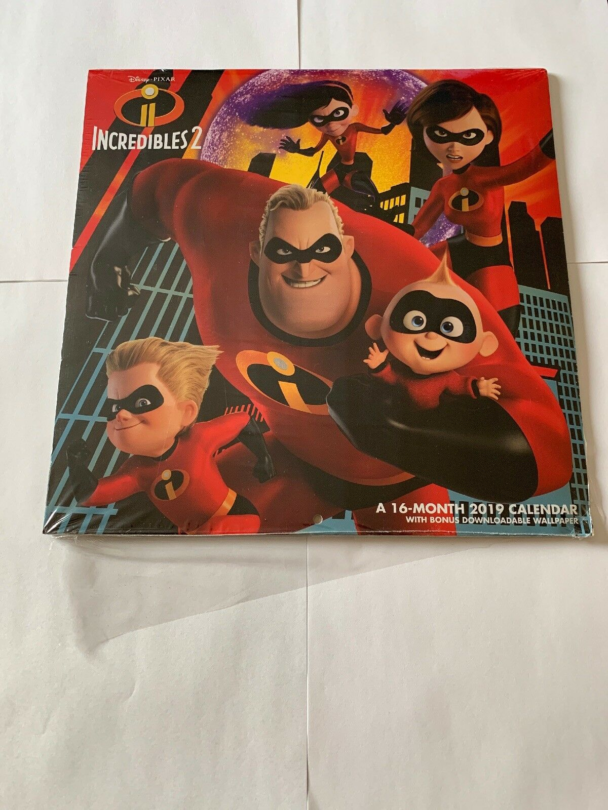 2019 Incredibles 2 2019 Wall Calendar, Animated Moviesacco Brands