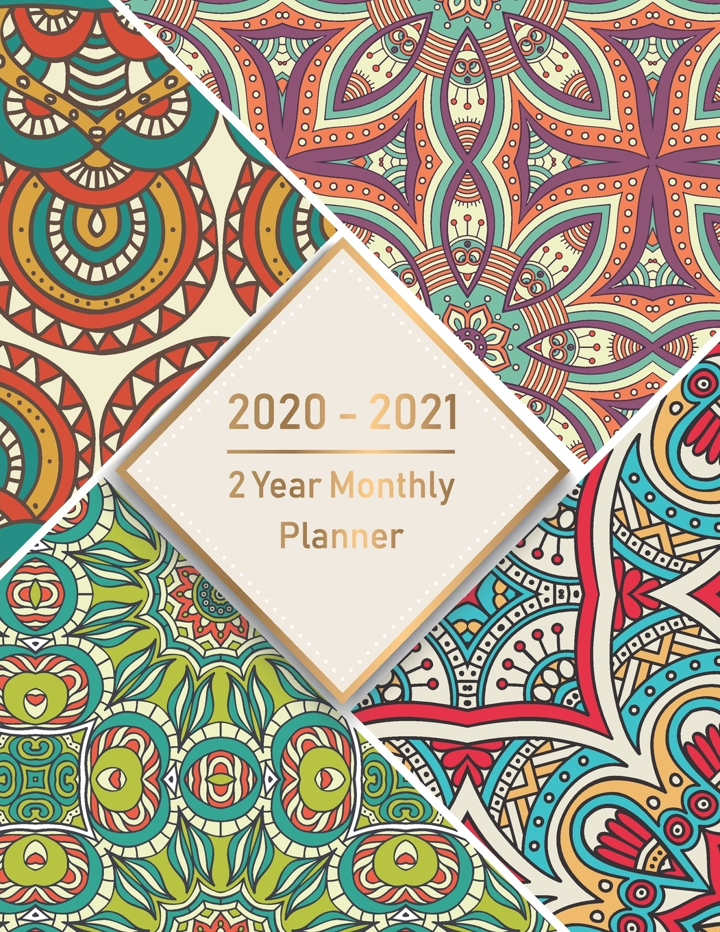 2020-2021 Monthly Planner: 2 Year Monthly Planner 2020-2021: Monthly  Schedule Organizer, Agenda Planner For The Next Two Years, 24 Months  Calendar,