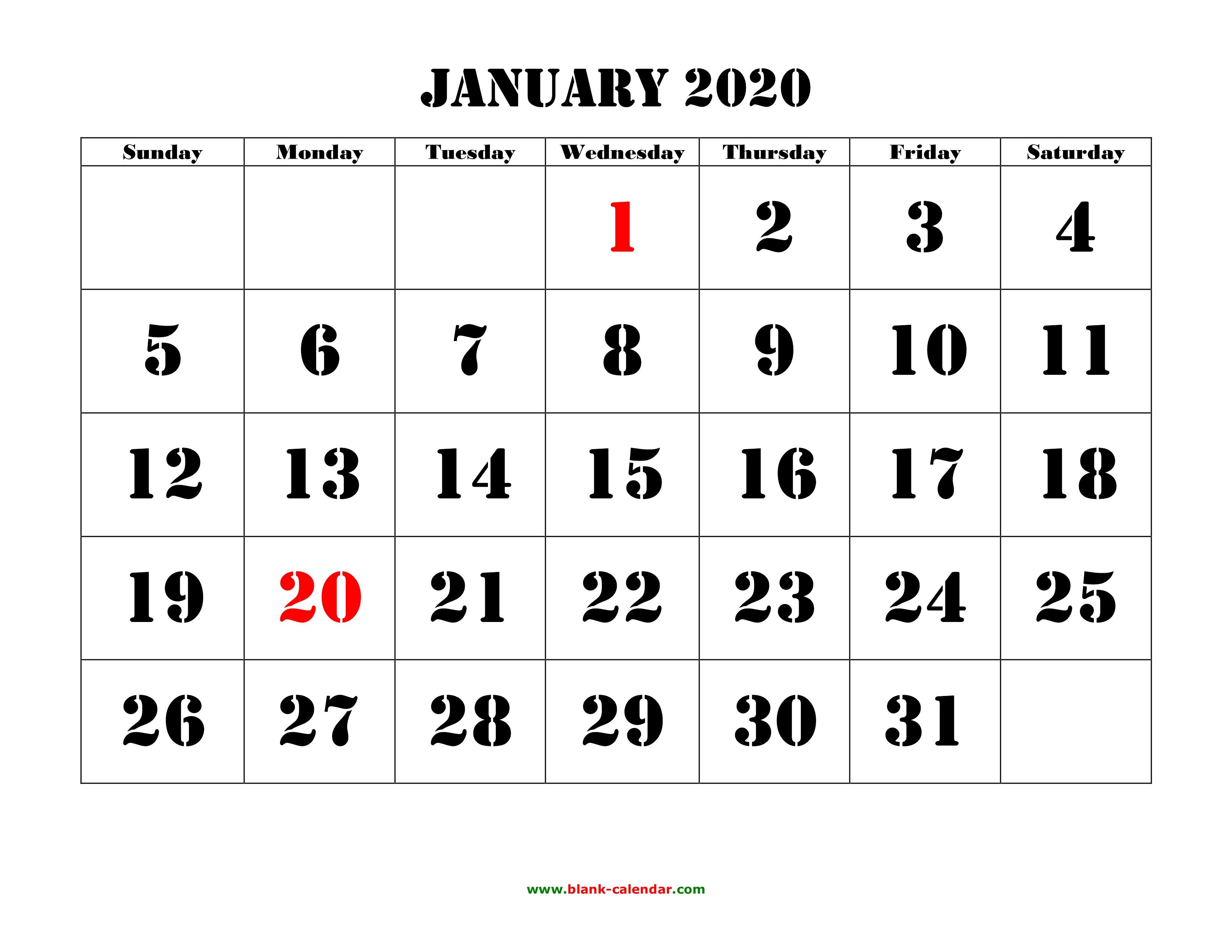 2020 Calendar Docx - Wpa.wpart.co