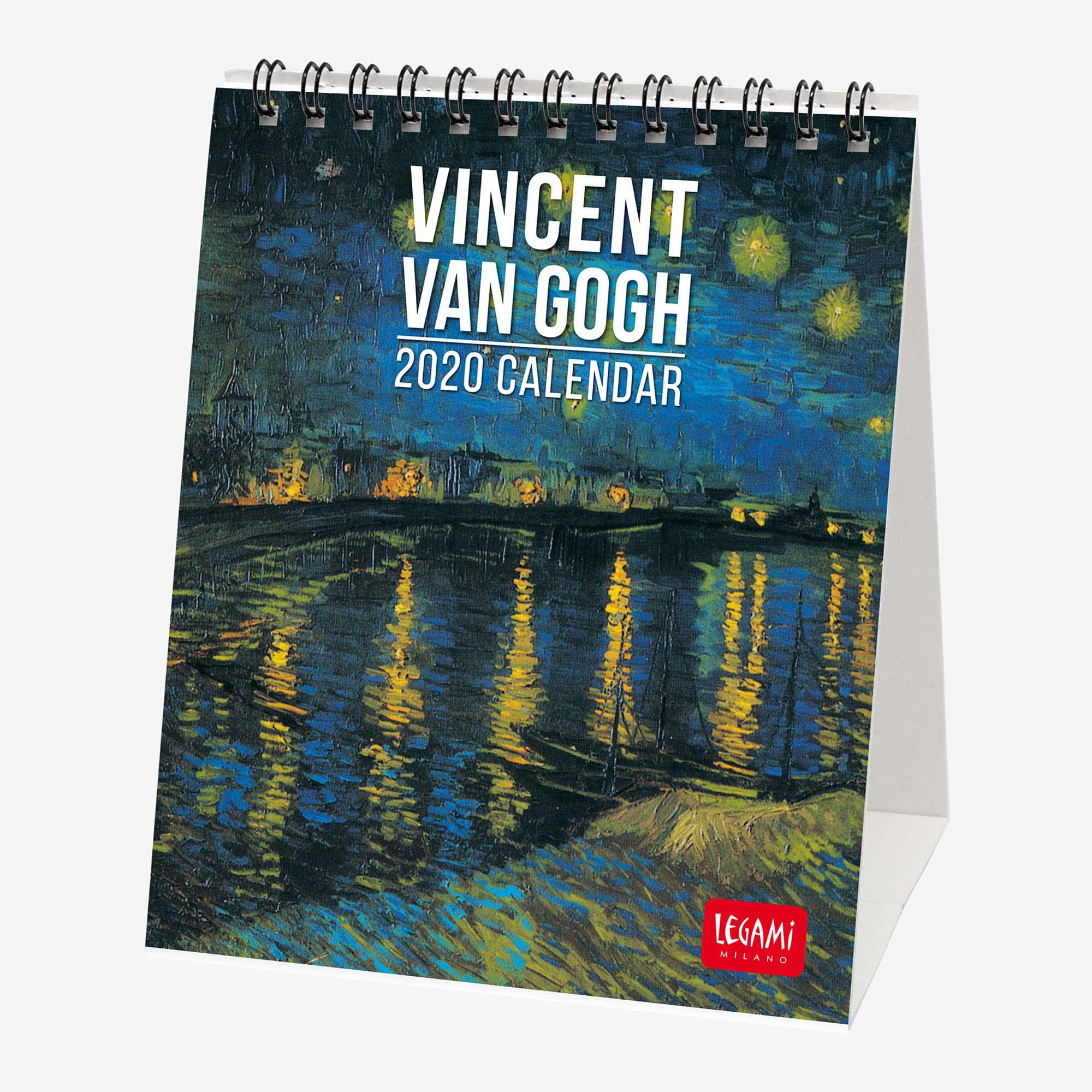 2020 - Desk Calendar - 12X14.5 Cm Vincent Van Gogh
