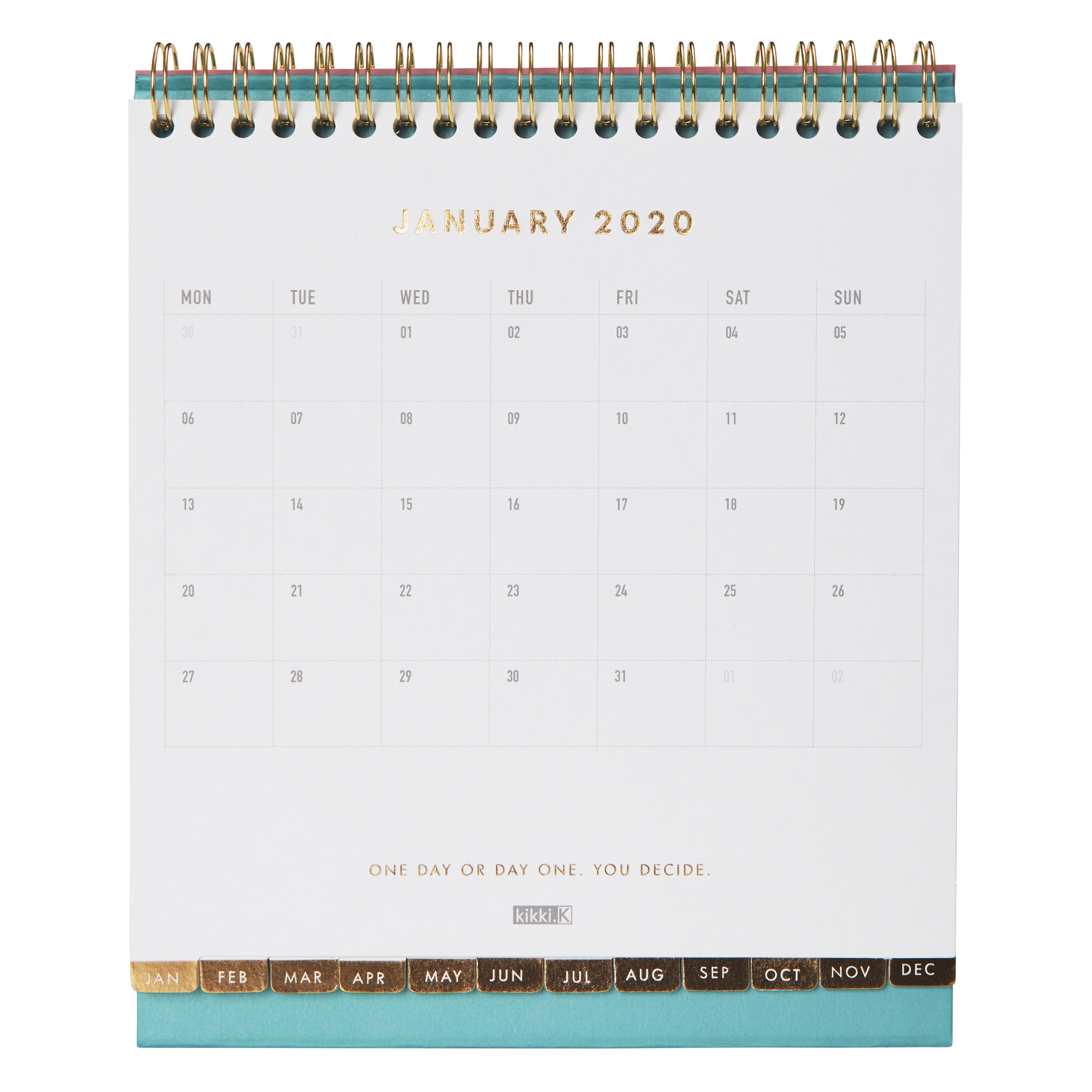 2020 Desk Calendar: Inspiration | Calendars | Kikki.k Row