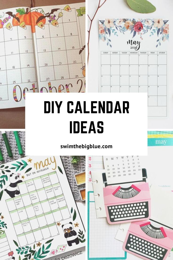 2020 Diy Calendar And Planner Ideas (New Year Resolution