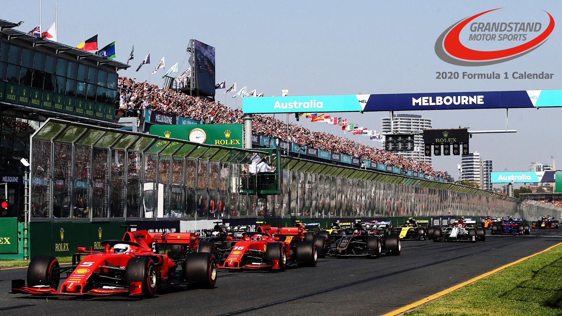 2020 F1 Calendar: Formula 1 Grand Prix Schedule Details
