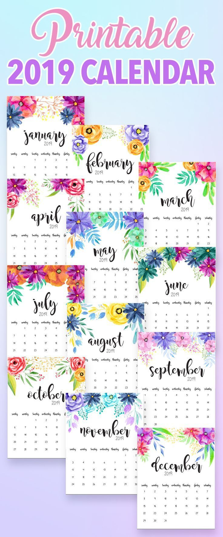 2020 Printable Calendars And Planners | Calendar