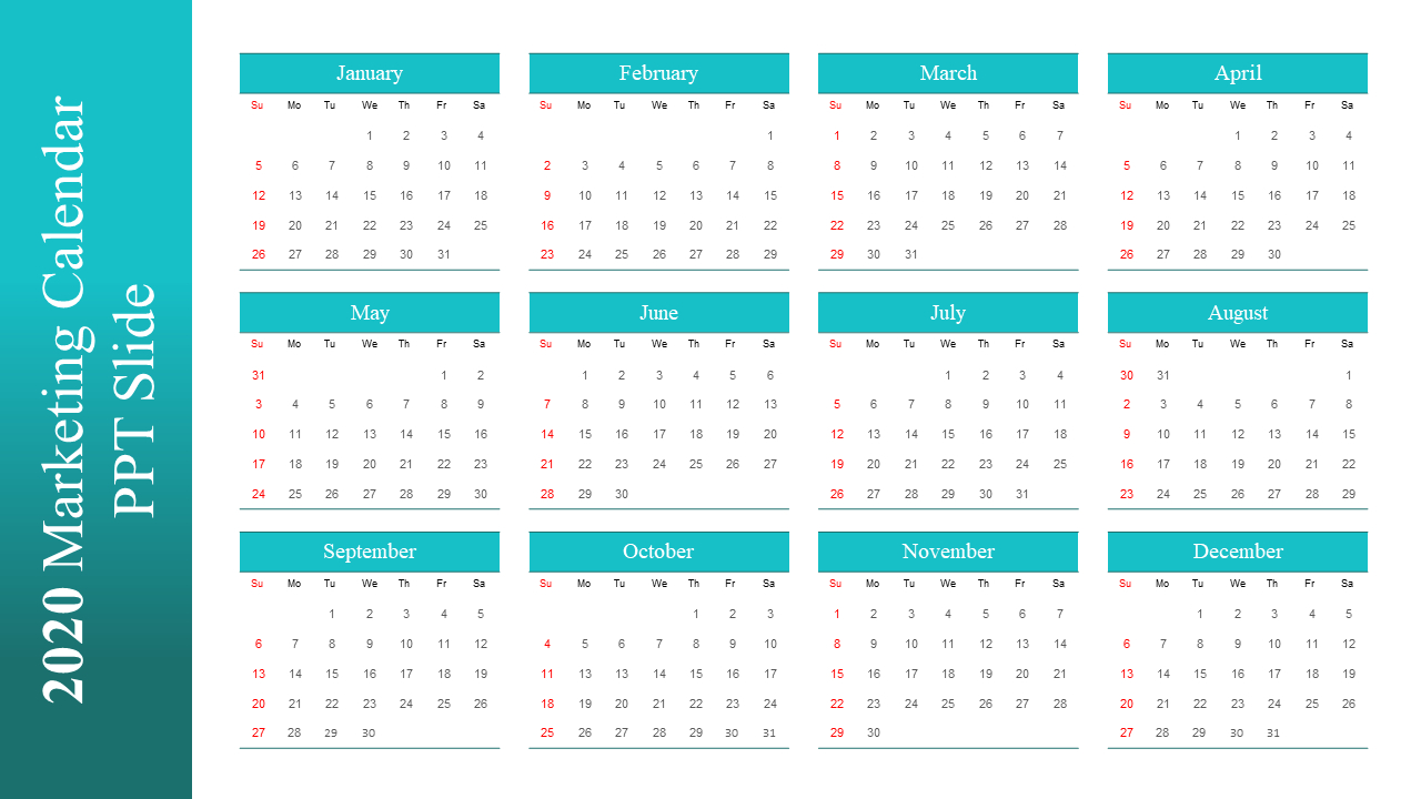 30 Best New Year And Calendar Templates To Kick-Off 2020