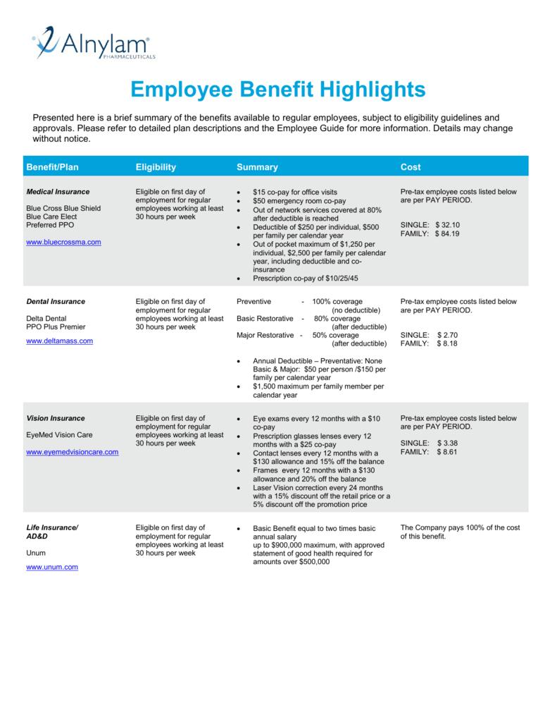 4 Benefits Overview