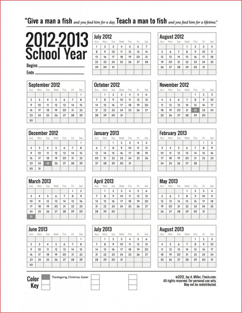 5 Year Calendar Printable Awesome Printable 5 Year Calendar