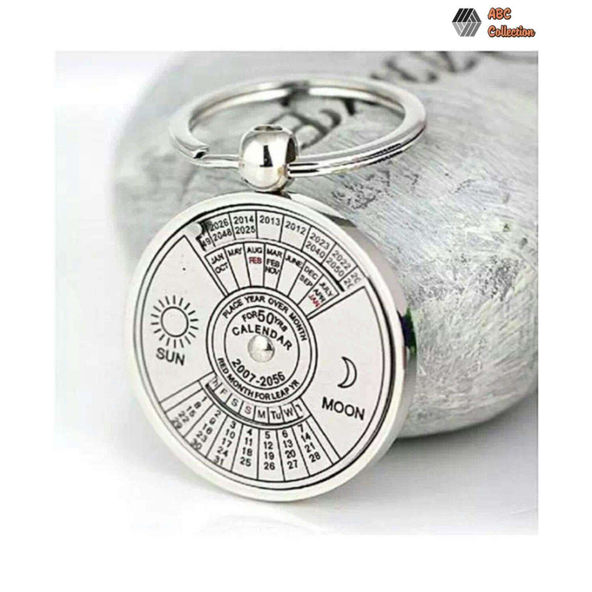 50 Years Perpetual Calendar Keychain