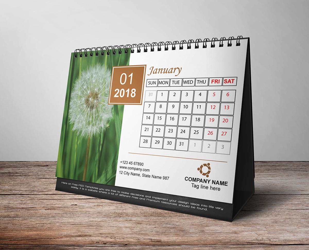 55 Creative And Unique Calendar Designs