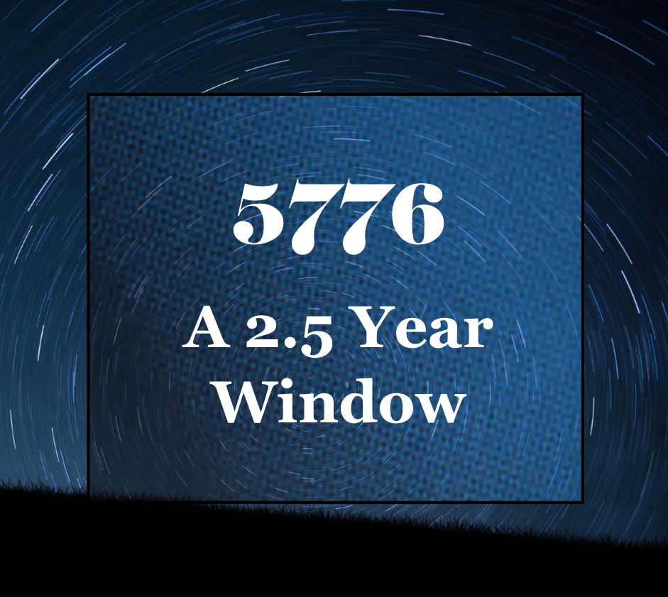 5776: A 2.5 Year Window– Is It Possible That We Are Still In