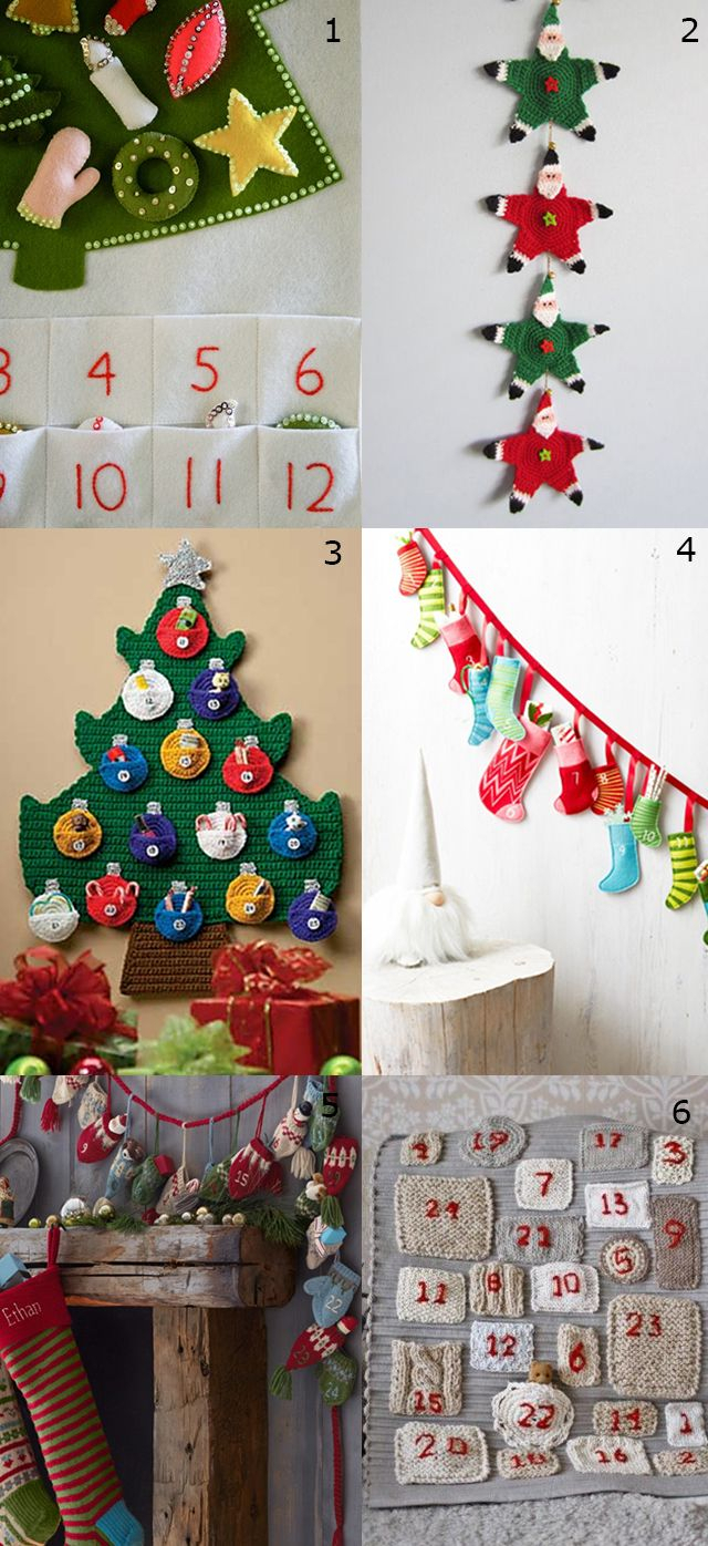 6 Advent Calendar Ideas | Diy Advent Calendar, Crochet