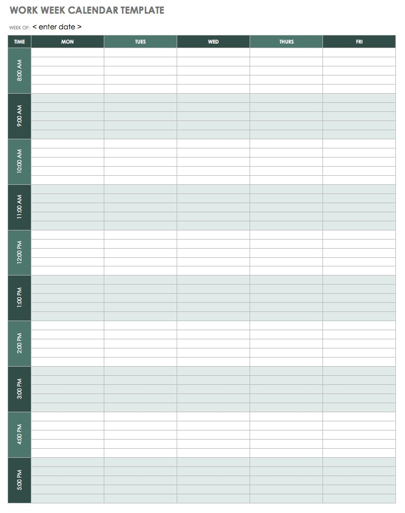8 Week Calendar Printable - Wpa.wpart.co