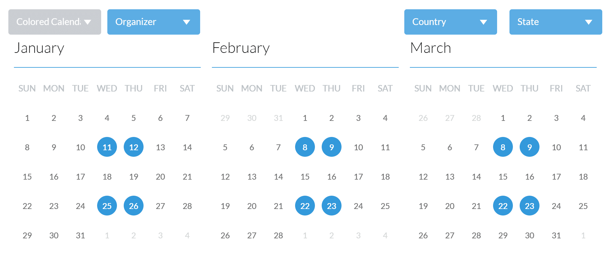 9 Best Event Calendar Plugins For Wordpress 2020 - Athemes