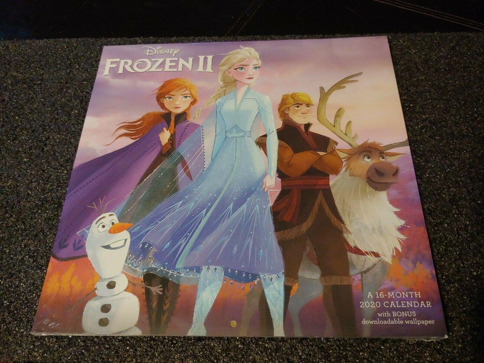 Acco Brands 2020 Frozen 2 Wall Calendar + Downloadable Wallpaper Disney
