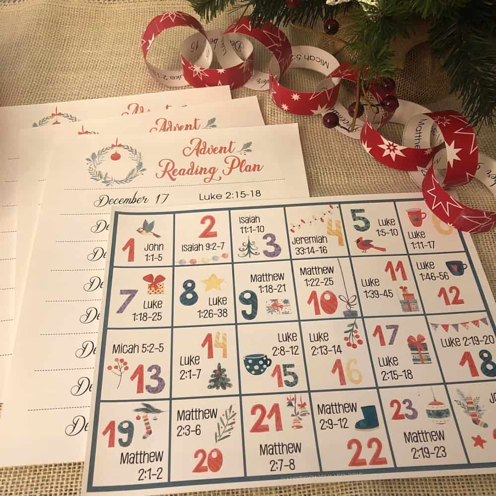 Advent Calendar For Kids: Ideas And Free Printable Advent