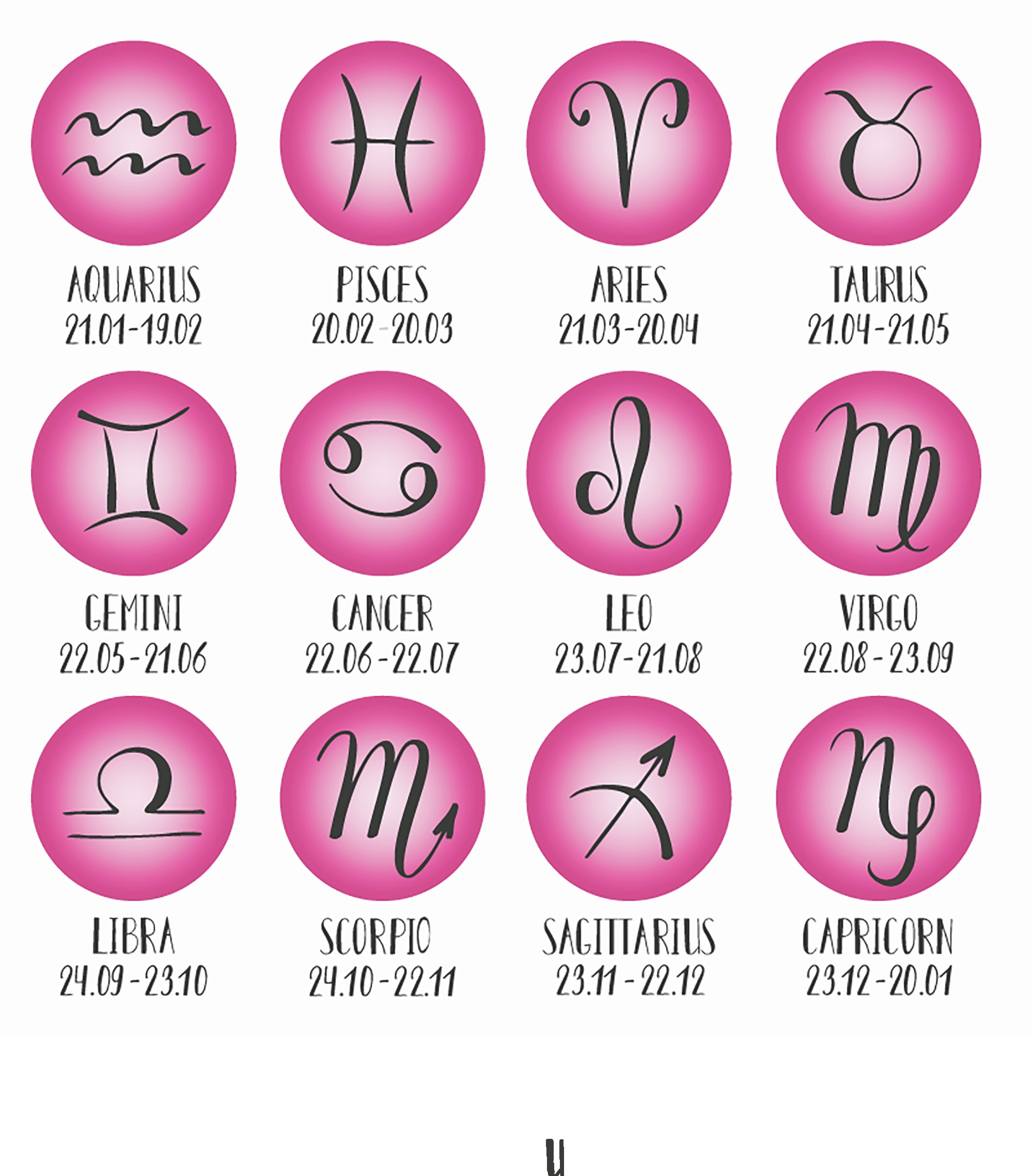 Allsigns Pink Till Cafe Astrology Leo Moon | Zimt.ca