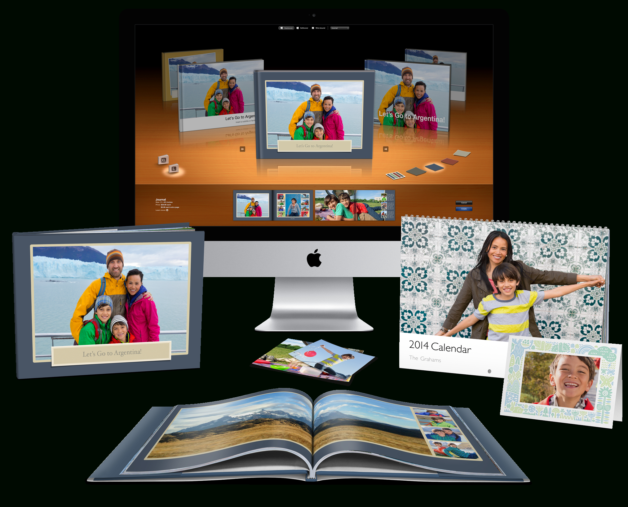 Apple - Print Products For Mac Start At $30 For Photo Book