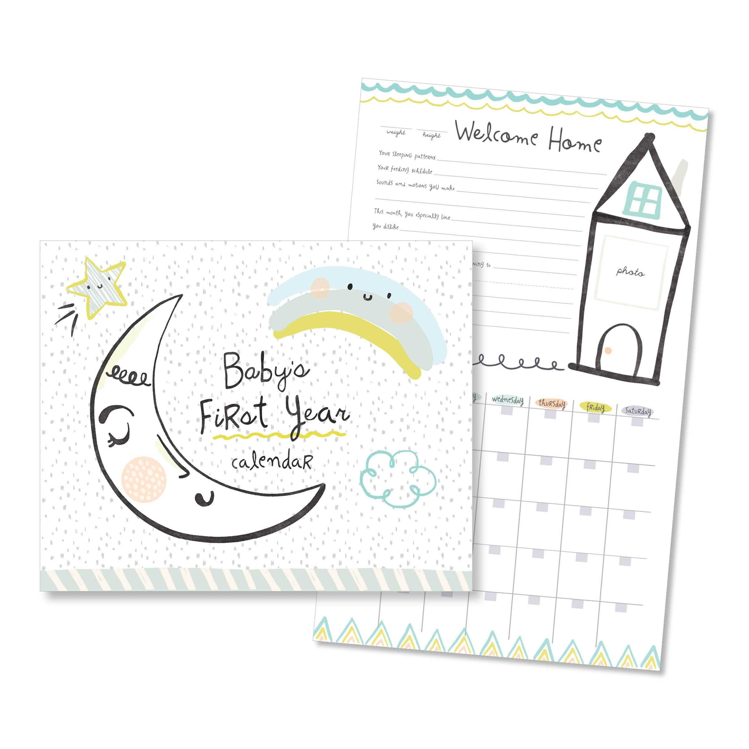 Baby's First Year Calendar - Little Dreamerc.r. Gibson