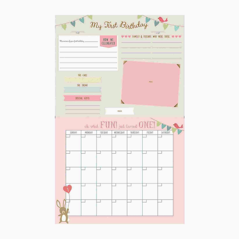 Baby's First Year Calendar - Little Lovec.r. Gibson