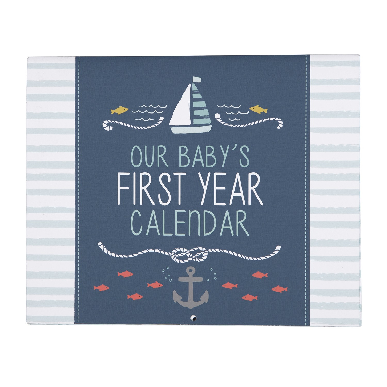 Baby's First Year Calendar - Under The Sea