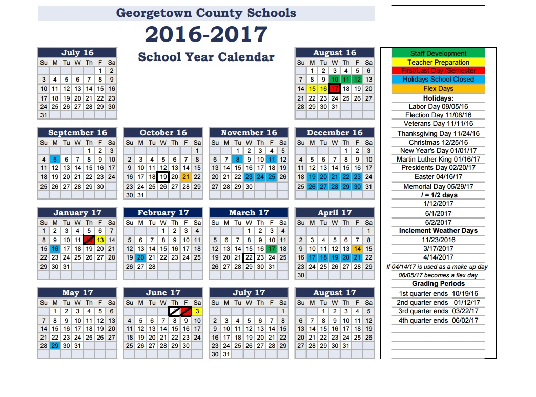 Back 2 School: Georgetown County School District