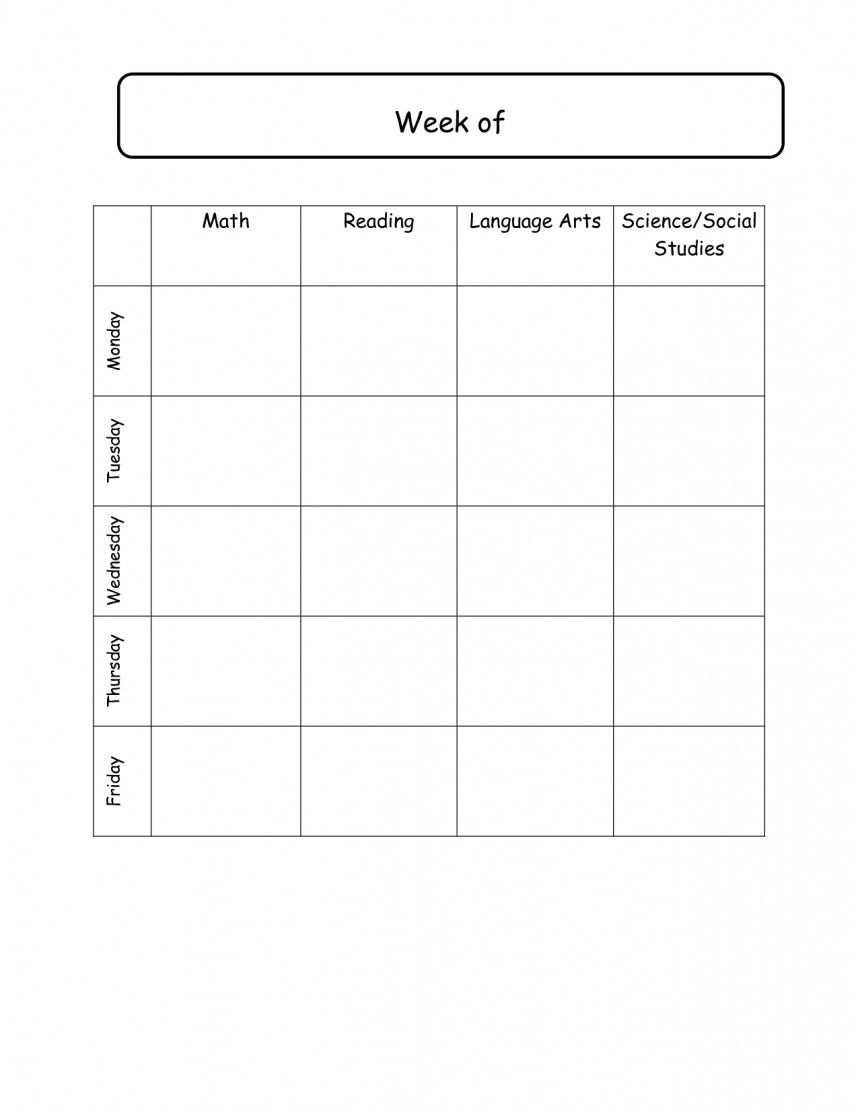 Beautiful Preschool Daily Schedule Template Ideas Day Lesson