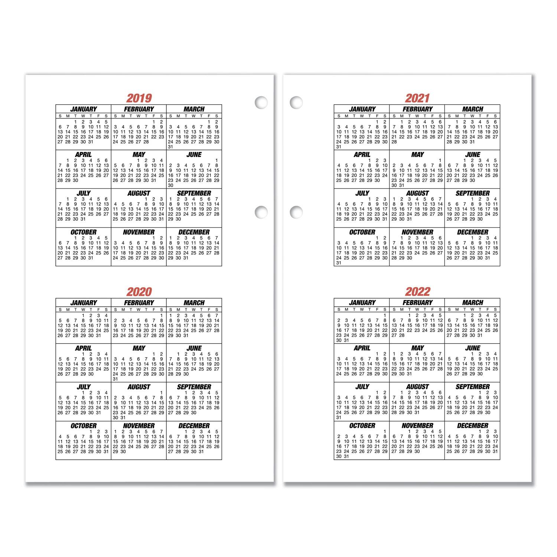 Burkhart's Day Counter Desk Calendar Refill, 4 1/2 X 7 3/8