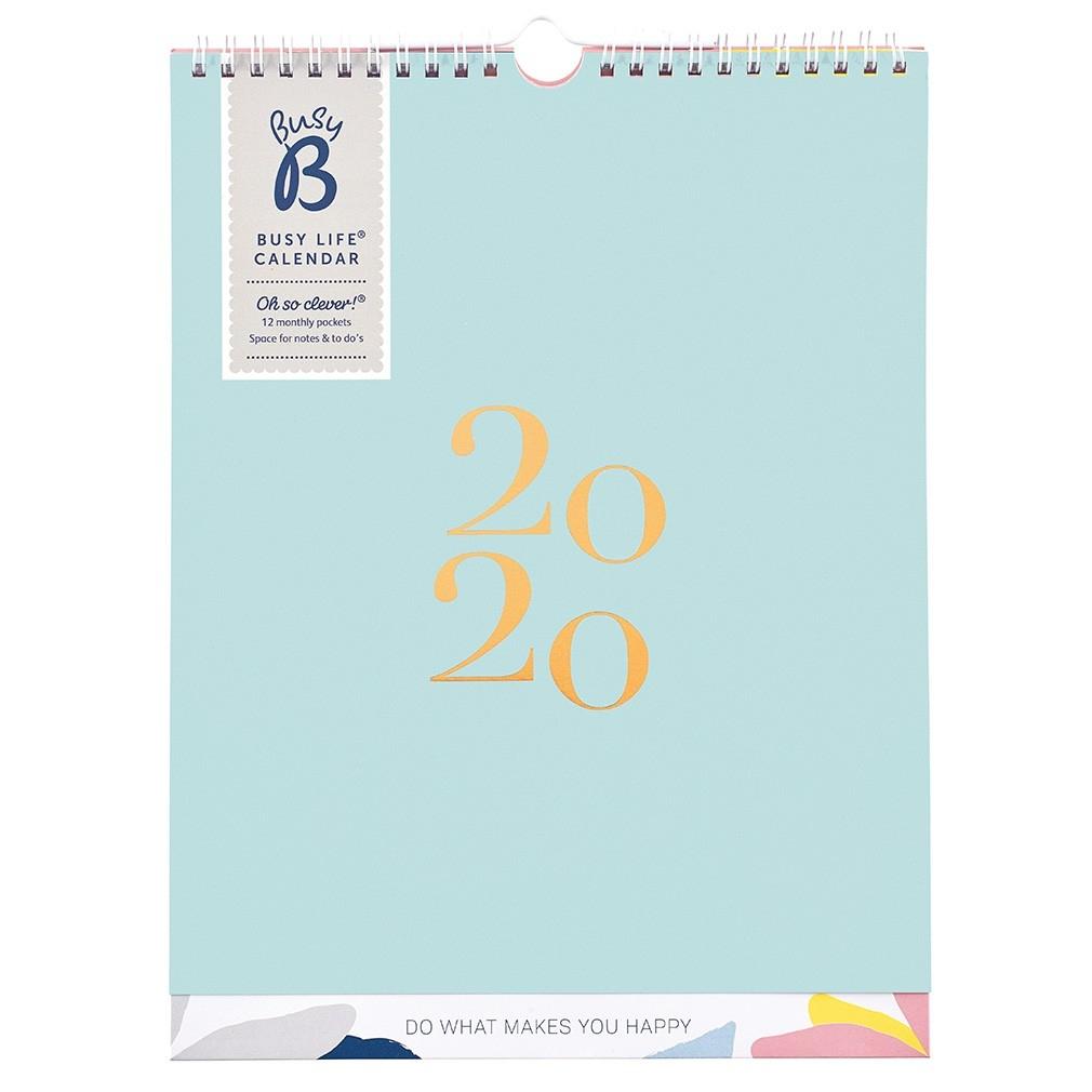 Busy Life Calendar 2020 - Sorbet Shores