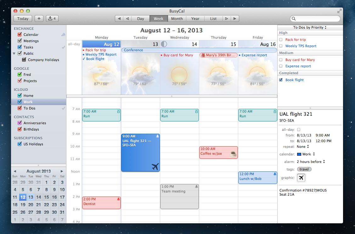 Busycal Week Background 670 | To Buy - Digital | Calendar