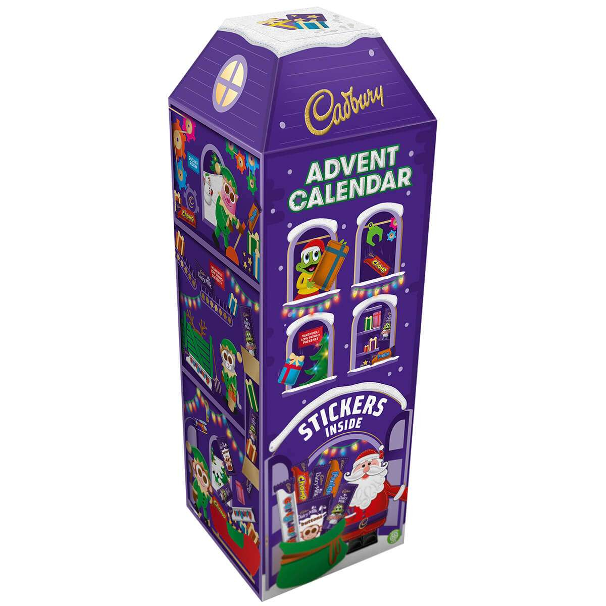 Cadbury 3D Advent Calendar 312G (Box Of 6) | Advent