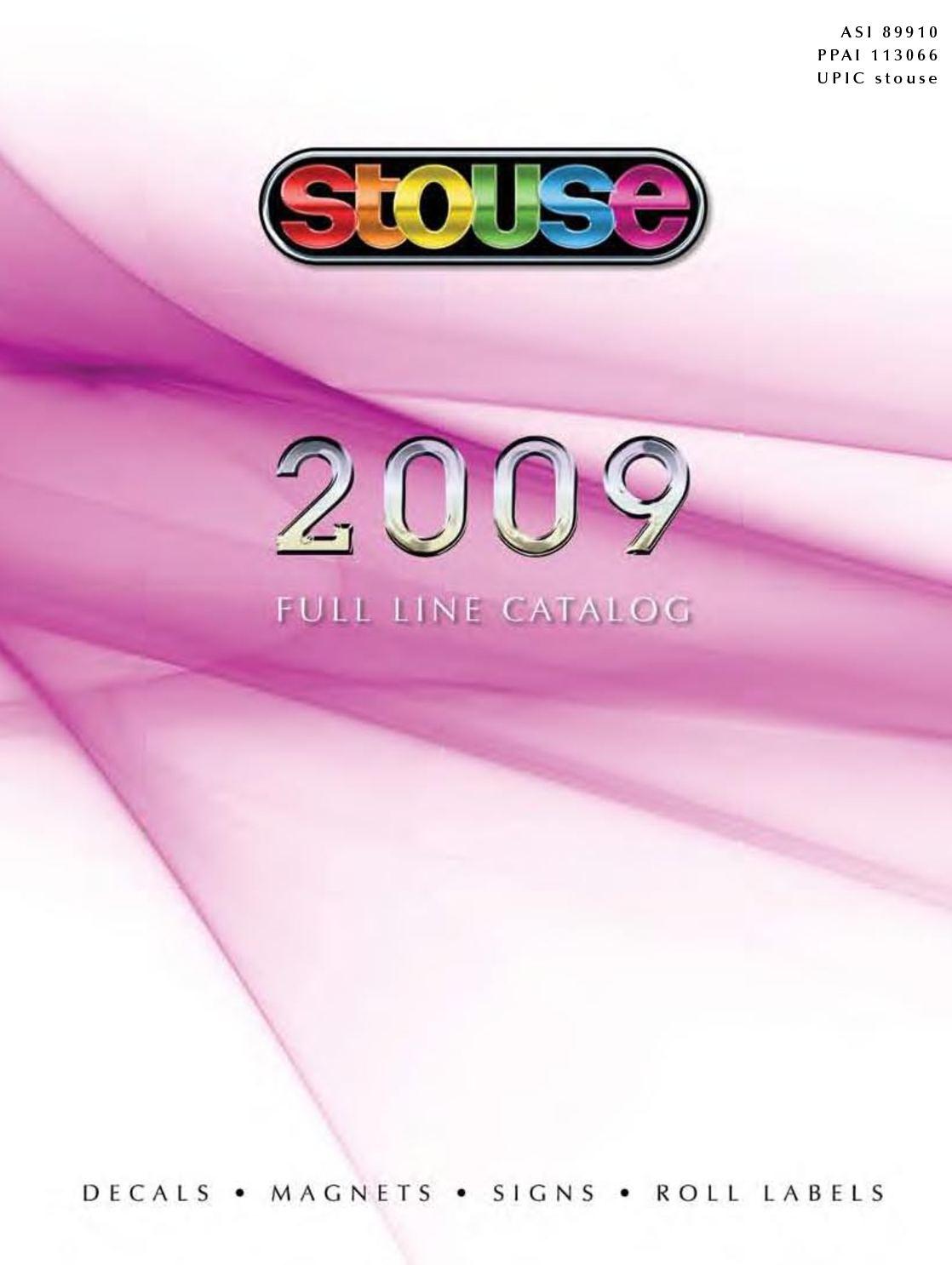 Calaméo - Stouse 2009 Catalog