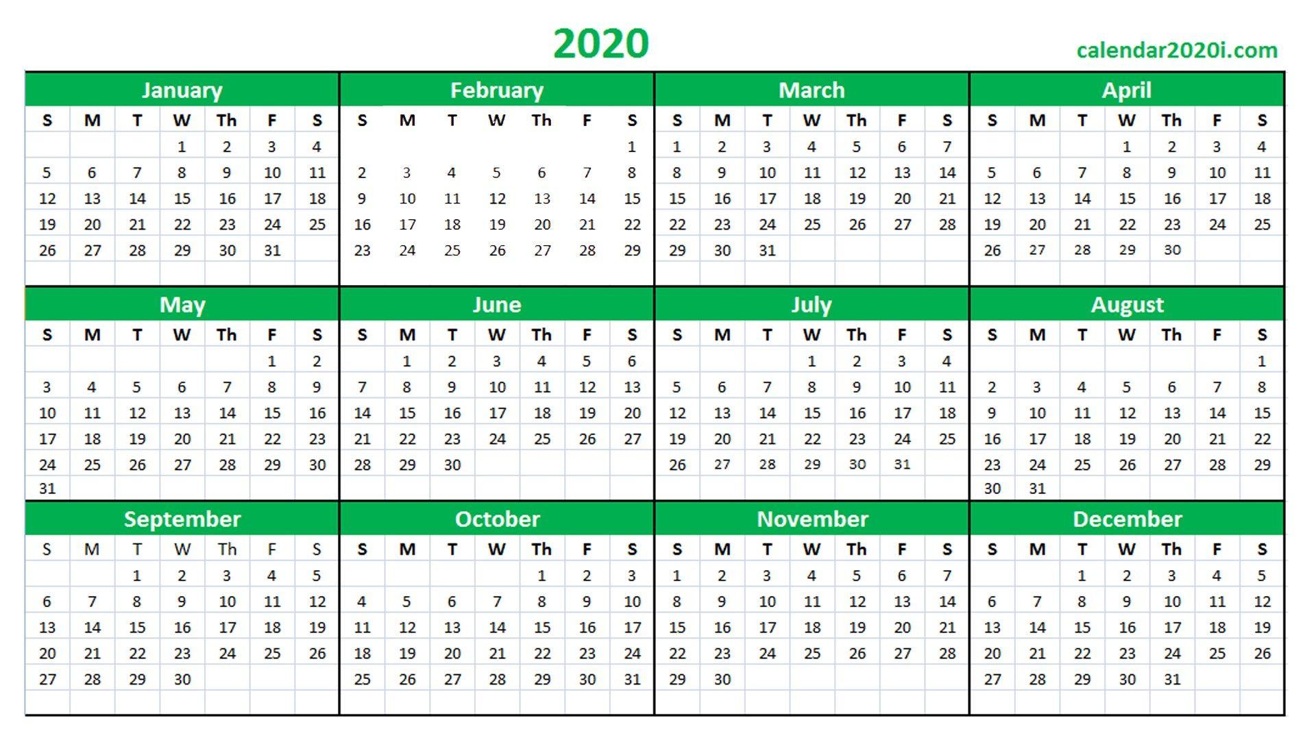 Calendar 2020 16 - Wpa.wpart.co