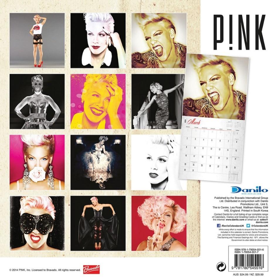 Calendar 2020 Pink - P!nk