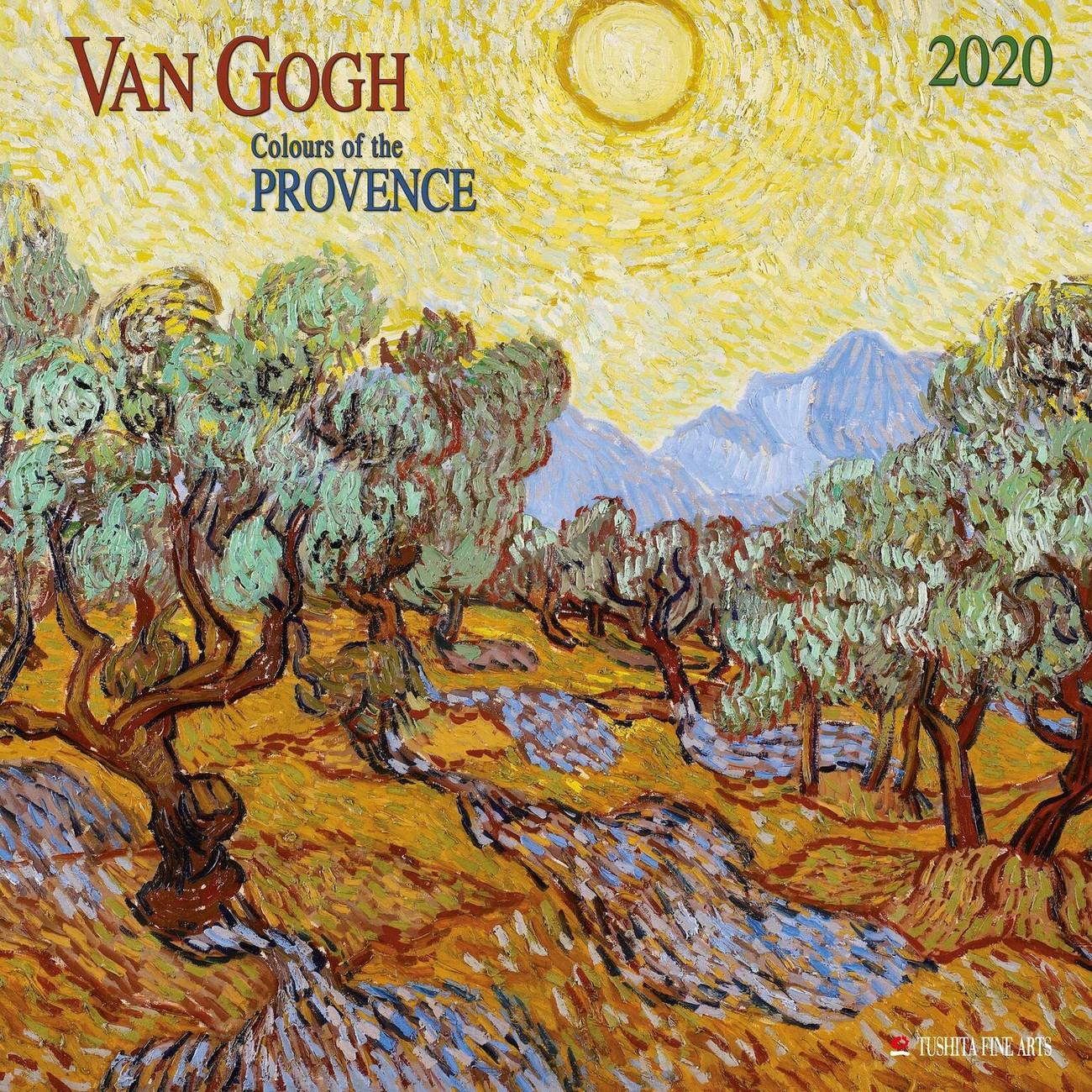 Calendar 2020 Van Gogh - Colours Of The Provence