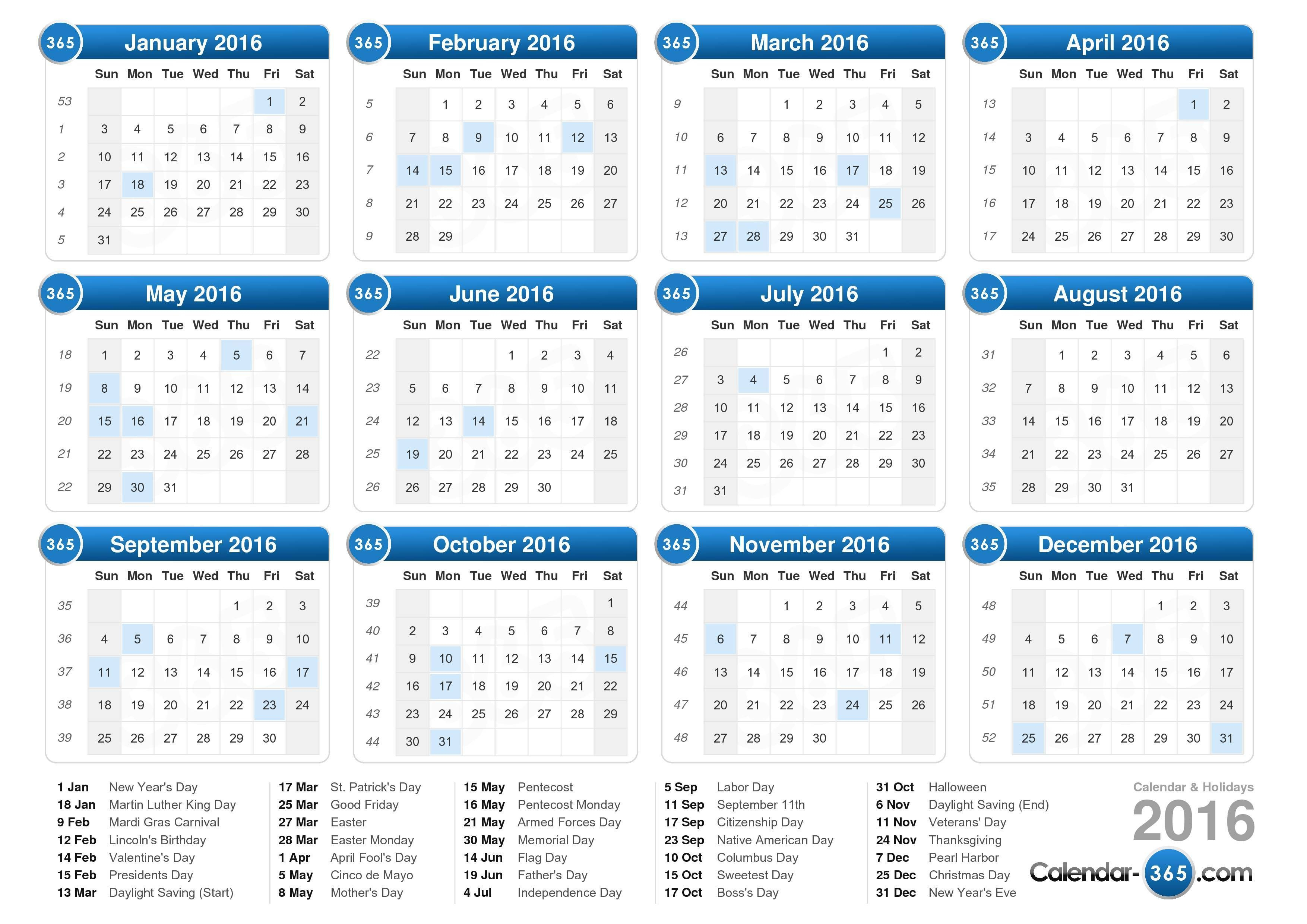 Calendar-365 Best Calendar Generating Site If You Just