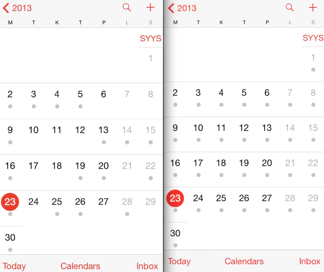 Calendar - Европейские Номера Недели В Календарь Ios?